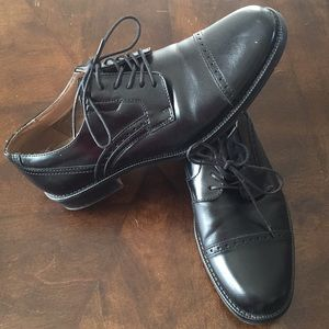 jf j.ferrar Shoes - Men s JF J. Ferrari black dress event work shoes 1eb63ecd13e